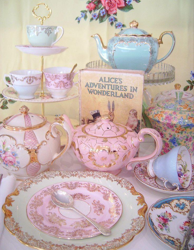 tea party time - photo #39