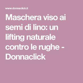 Maschera viso ai semi di lino: un lifting naturale contro le rughe - Donnaclick