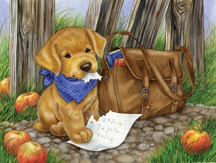 "jane maday art | The Dog Ate My Homework"". Artist: Jane Maday"