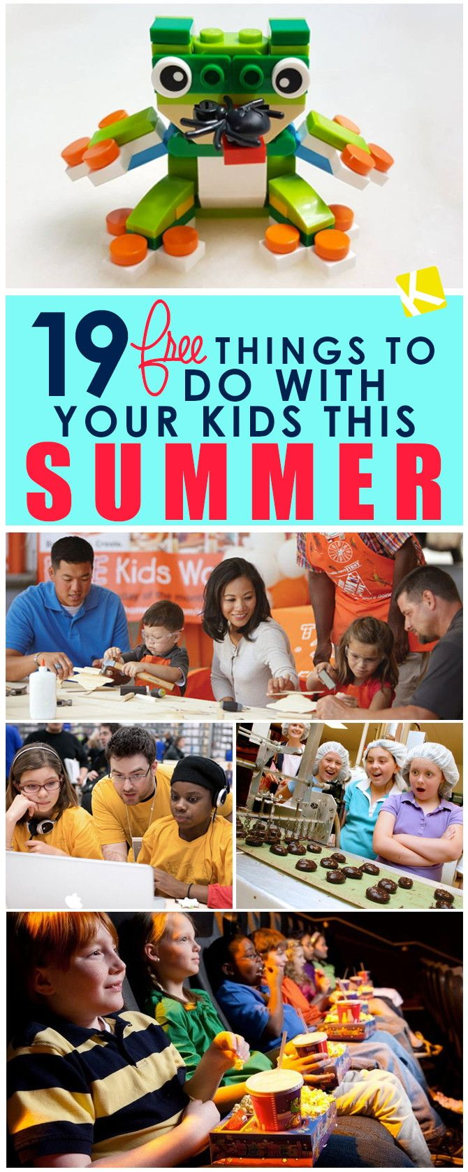 19 Free Things to Do with Your Kids This Summer