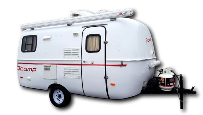 13 Of The Best Small Travel Trailer For Retired Couples Crow Survival Scamp Trailer Small Travel Trailers Lightweight Travel Trailers