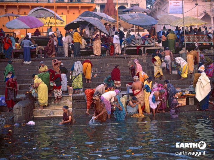 Il Kumbh Mela è il più grande raduno pacifico del pianeta. Si svolge in India, nel 2016 avrà luogo a Haridwar dal 1 gennaio al 30 aprile - #Viaggiare #India #Kumbhmela