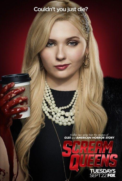 Scream Queens character poster