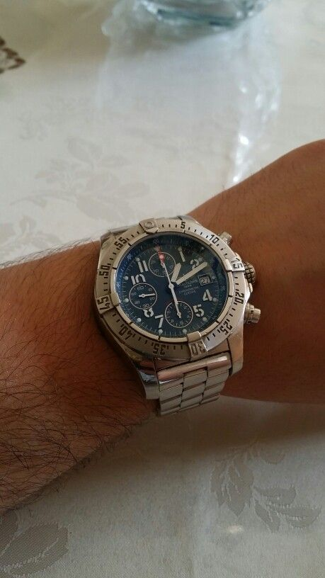 Breitling Emergency #watch #wristporn #classy #dapper #breitling #emergency