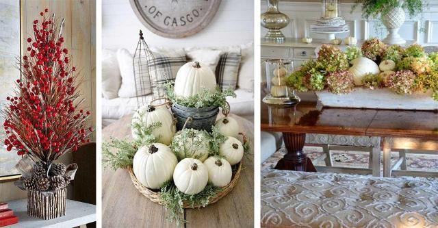13 pomysłów na jesienne dekoracje do salonu