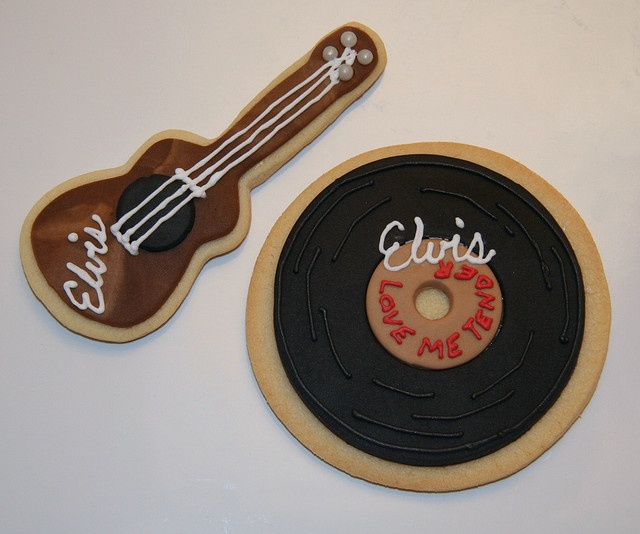 33 Best Images About Elvis Cookies (Decorated) On
