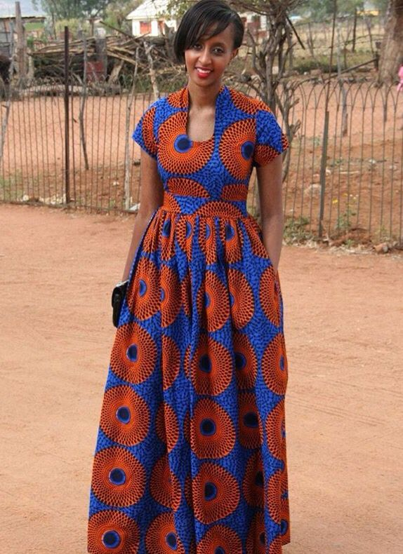 Fantastic KitengeLesoKhanga Dresses Designs For Womens 2014