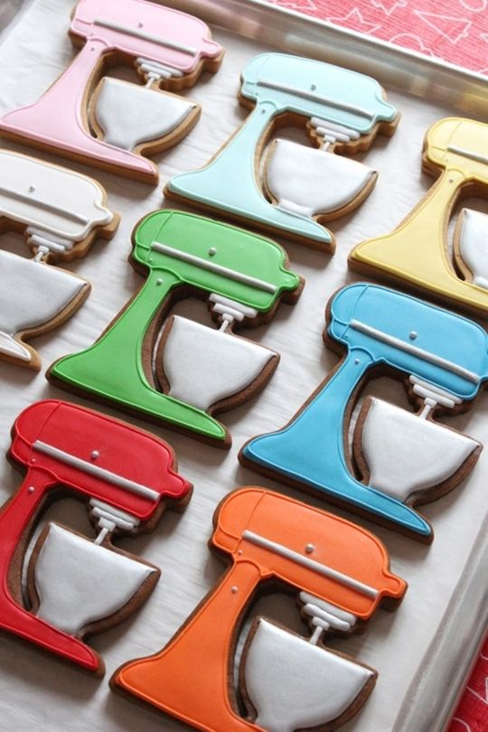 KitchenAid Stand Mixer Gingerbread Cookies