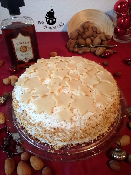 Marzipan-Nuss-Torte | Krümmelchaos