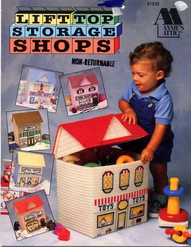 Lift+Top+Storage+Shops+Plastic+Canvas+Book+-+Annie's+Attic+87S30