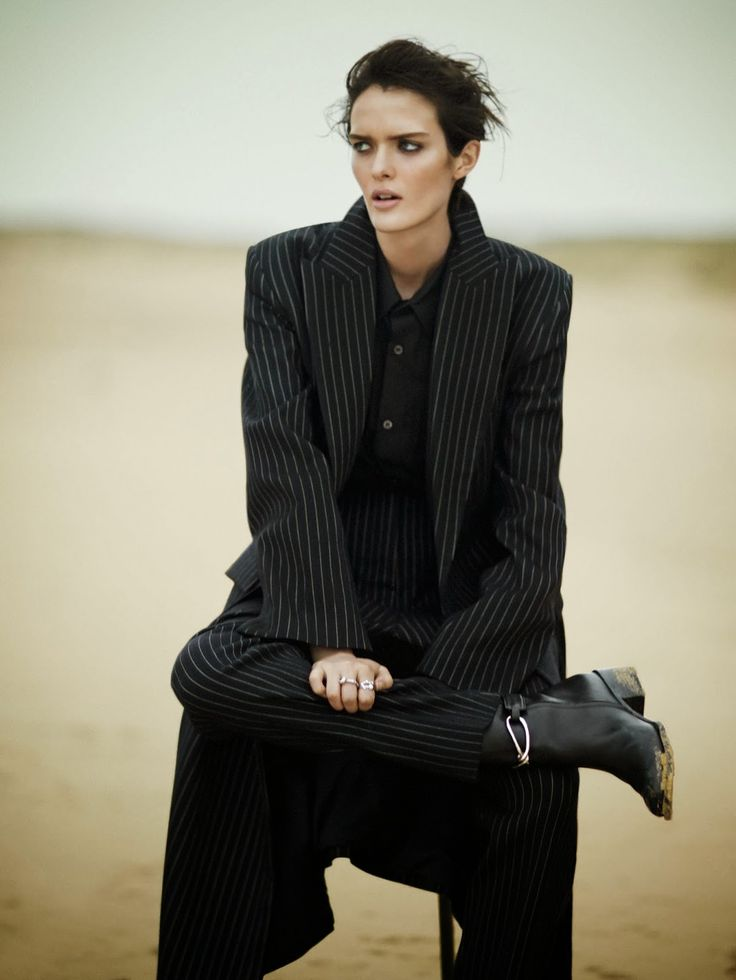 visual optimism; fashion editorials, shows, campaigns & more!: like a boy: sam rollinson by boo george for vogue china november 2013