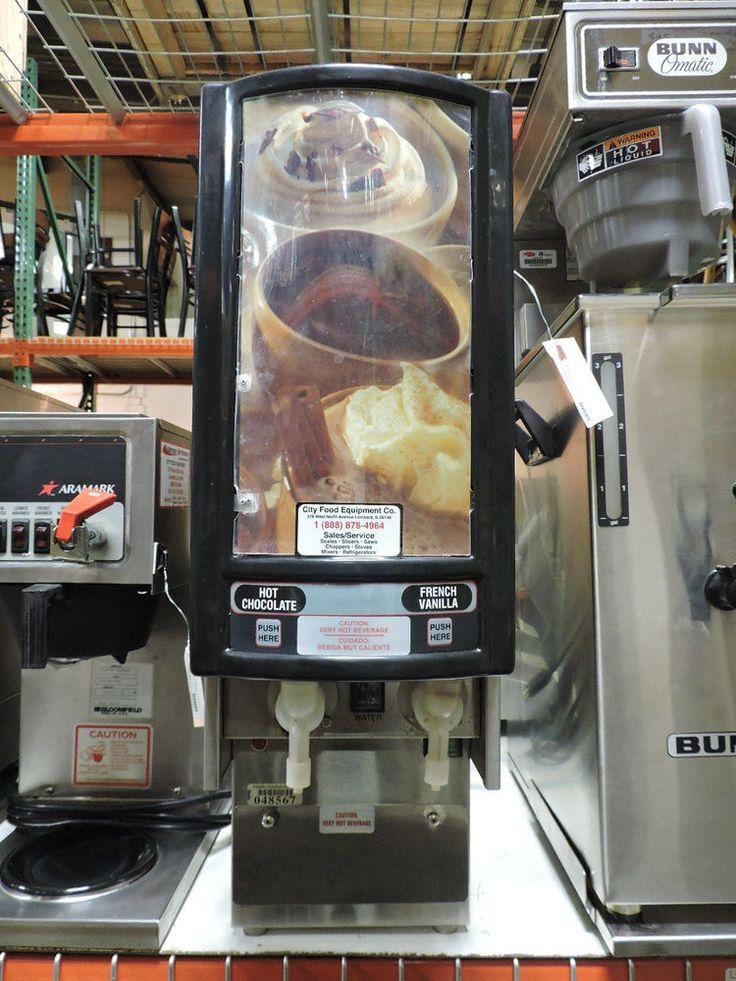 Karma 454 Commercial Two Flavor Dispenser Cappuccino Machine #Karma
