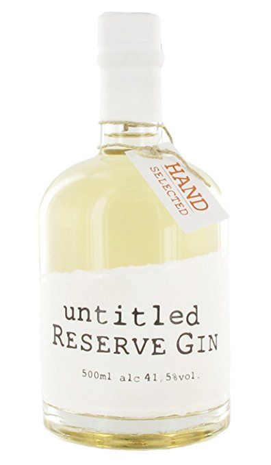 untitled Reserve Gin 41.5 prozent (1 x 0.5 l)