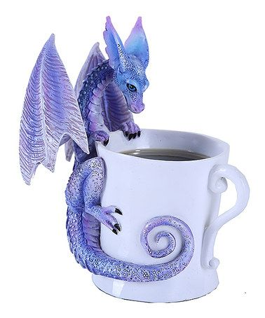 Look what I found on #zulily! Dragon Mug Figurine #zulilyfinds