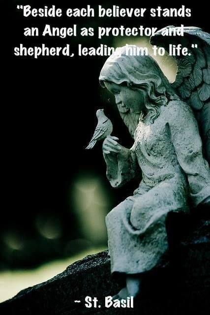 Beside each believer stands an angel