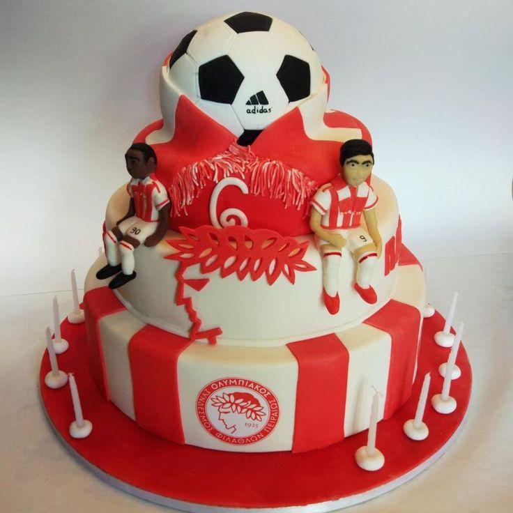 Olympiakos cake - Cake by nef_cake_deco