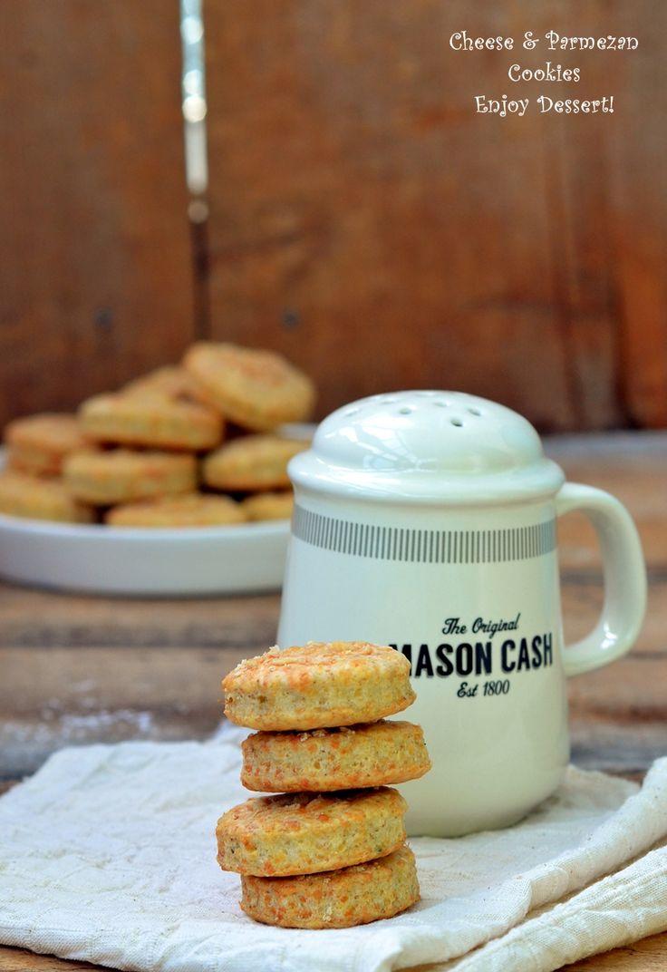 Cheese & Parmezan Cookies