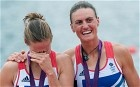 Helen Glover and Heather Stanning's gold medal winning performance in the women's pairs rowing competition