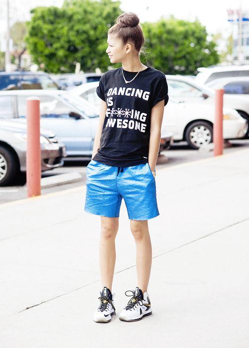 Zendaya Style Z E N D A Y A Pinterest Shorts Posts And Zendaya Style