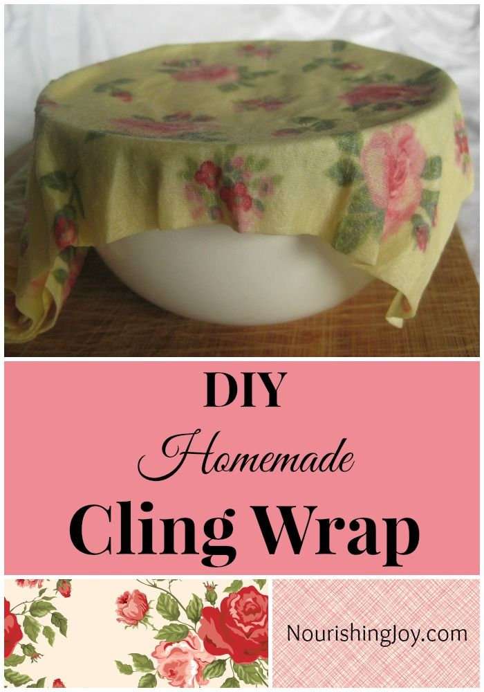 DIY Homemade Cling Wrap: A Natural Plastic Wrap Alternative