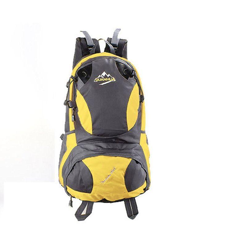 JNTworld Waterproof large Outdoor Sports backpack camping hiking rucksacks travel bag * For more information, visit now : Best hiking backpack