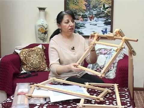 (2) Мастер-Класс по использованию пялец-рамок - YouTube