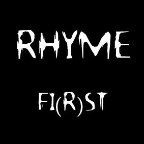only music saves: Album of the day : Rhyme - fi(R)st