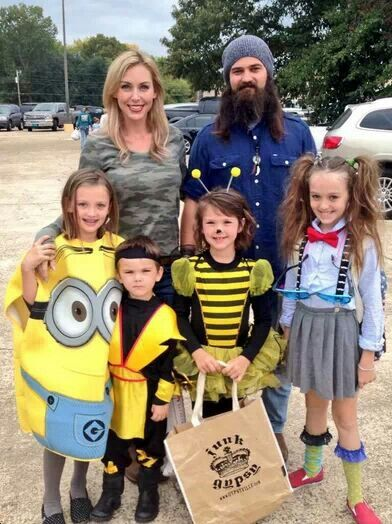 duck dynasty jep and family at halloween - Jase Robertson Halloween Costume
