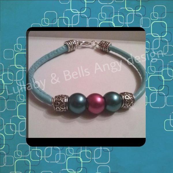 azzurro come il cielo di Lullaby & Bells Angy design su DaWanda.com