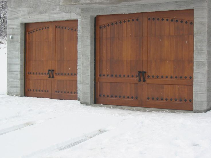 25 best ideas about garage door replacement panels on for Rustic wood garage doors