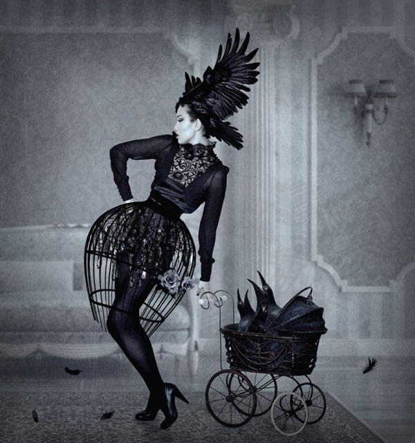"""Natalie Shau: Tales From The Underground. """"Flowers in a garden of unearthly delights"""" http://ow.ly/ezOeQ 