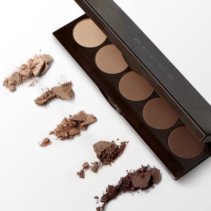 BECCA Ombre Nudes Eye Palette - Five perfectly matte nudes designed for the eyes, but versatile enough for so much more! #Sephora #eyeshadow