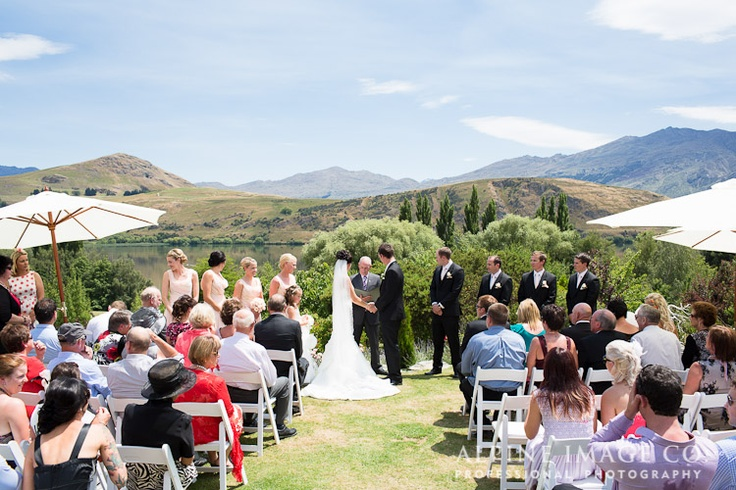 Chapel by the Lake, Lake Hayes Wedding - Photography by Alpine Image Co.