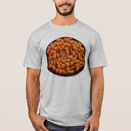Retro Vintage Kitsch Food Pork and Beans T-Shirt - click/tap to personalize and buy