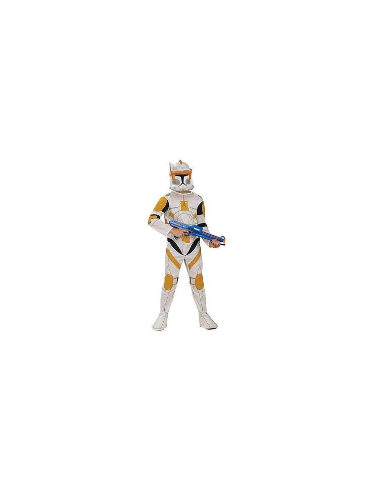 Clone Trooper Commander Cody Child Costume | Cheap Star Wars Costumes for Boys