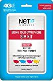 #9: Net10 Bring Your Own Phone SIM Activation Kit (Triple Punch)