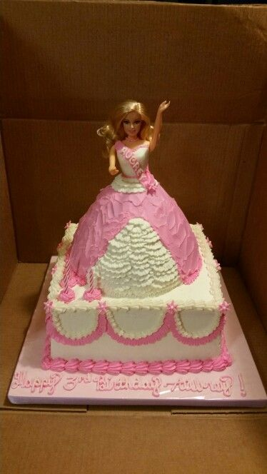 Barbie Sheet Cake Images : 17 Best images about Cakes by Sonya ;) on Pinterest ...
