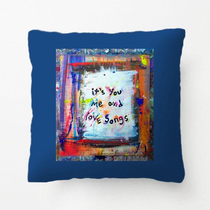 Ты Меня И Песни о Любви Throw Подушка декоративные Подушки Наволочка Настроить Подарок Lvsure Для Гостиной наволочка