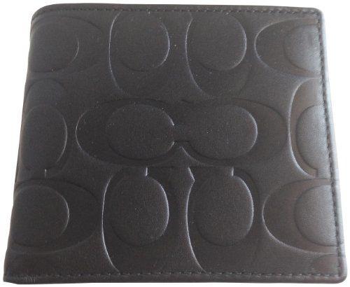 Coach Black Embossed Double Billfold Bifold Mens Coin Wallet 74531 Coach http://www.amazon.com/dp/B00B5XU9SY/ref=cm_sw_r_pi_dp_DEwOtb1244Y9TXHJ