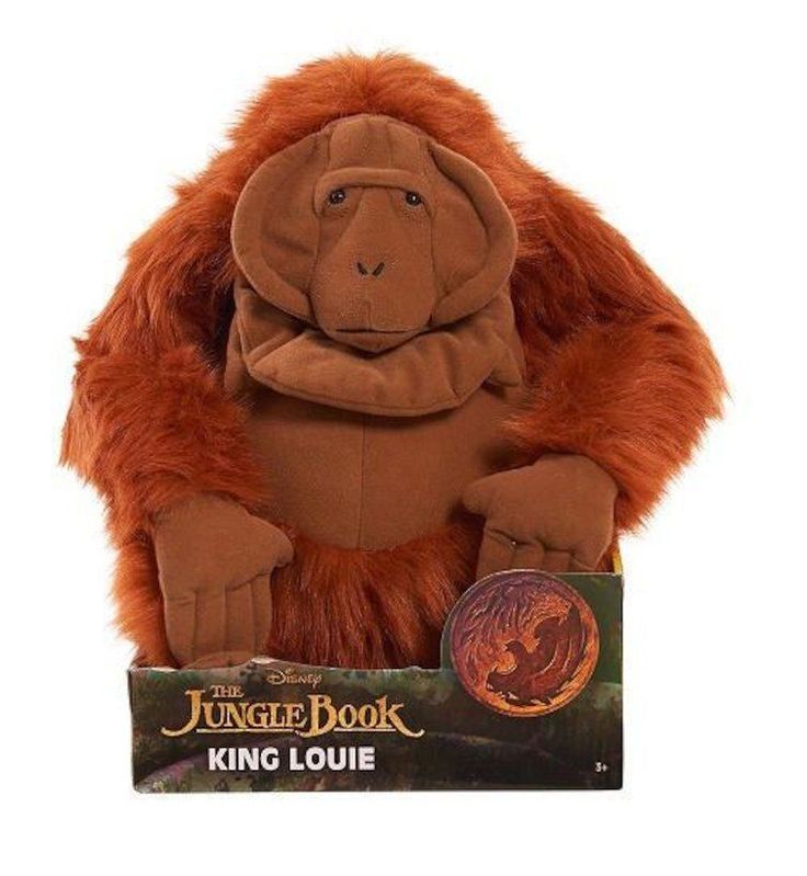 Disney The Jungle Book Deluxe 12 inch Stuffed Figure - King Louie #Disney