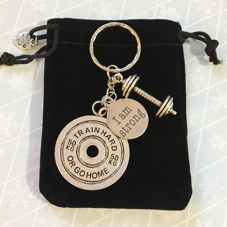 39 best Fitness Keychains images on Pinterest Key chains Key fobs