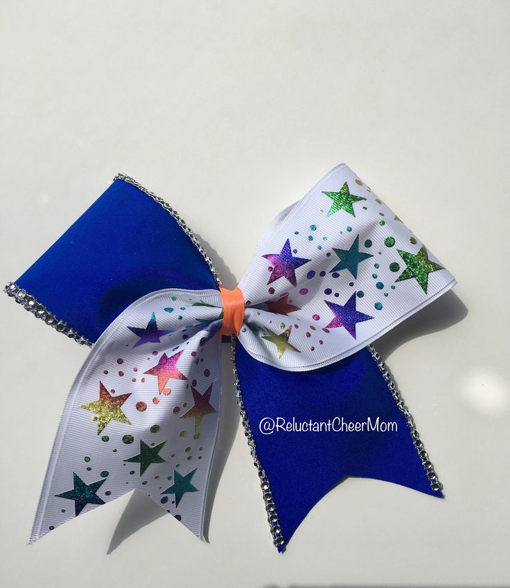 A personal favorite from my Etsy shop https://www.etsy.com/ca/listing/527969834/blue-cheer-bow-with-stars-and