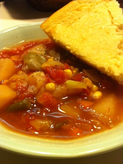 bowl of old fashioned vegetable soup recipes pinterest