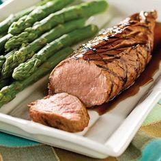 Filets de porc marinés au balsamique et érable - Recettes - Cuisine et nutrition…