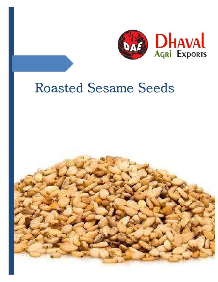 We are one of the best quality sesame seeds supplier and exporter in India. Roasted seeds are most cultivated plant across worldwide.