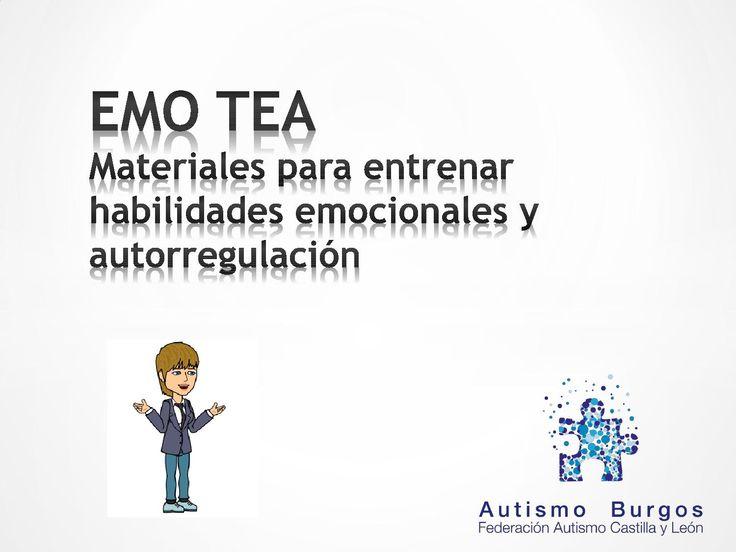 EMO TEA Materiales para entrenar habilidades emocionales y autorregulación