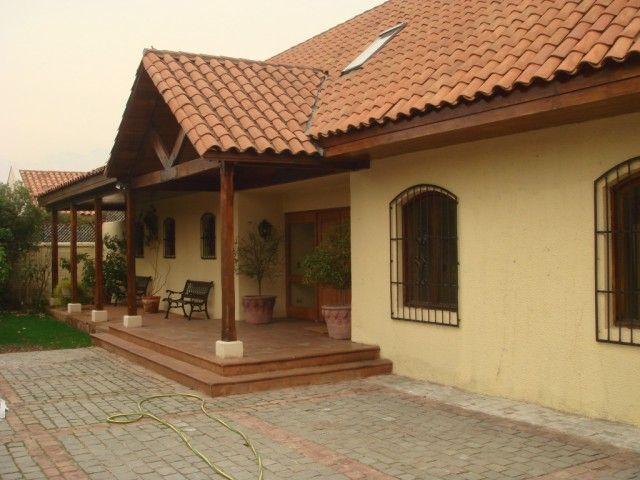 Casas chilenas descripcion estupenda casa estilo chileno de 340 m2 construidos y - Ideas casas de campo ...