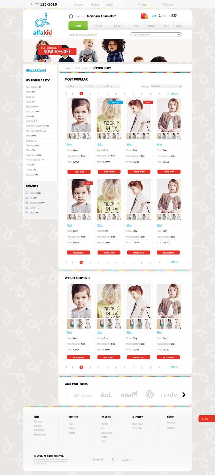AlfaKid online store