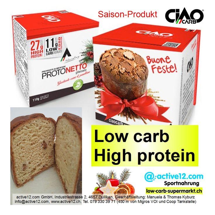 PROTONETTO - die süsse Verführung für low carb Freunde :-) low carb ✓ high protein ✓ ballaststoffreich ✓ ►►►http://www.active12.ch/Nahrungsmittel-und-Sportnahrung/Spezialnahrungsmittel/Chips-Riegel-und-Snacks/Snacks--low-carb-/Protonetto.html #Protonetto #Weihnachten #Christmas #Festtage #Geschenk #Geschenkidee #lowcarb #eiweiss #protein #ballaststoffreich #CiaoCarb #Fitness #Diät #Muskelaufbau #Diabetiker #Muffin #Gebäck #Pandoro #panettone #Dulliken #Olten #active12