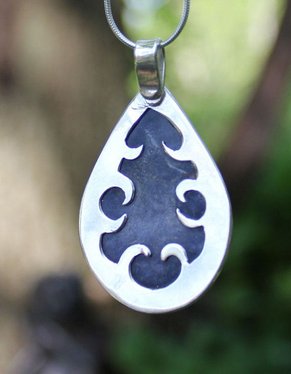 BLUE  Stirling Silver & Sodalite Pendant by Adornametals on Etsy, $120.00